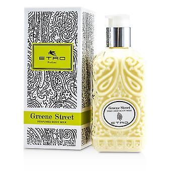 Etro Greene Street perfumada Body Milk 250ml / 8.25 oz