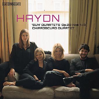 Haydn / Chiaroscuro Quartet - Haydn: Sun Kvartetter Op. 20 nr 1-3 [SACD] USA import
