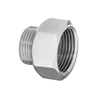 Pipe Connection Reduction Fittings Chrome Female x Male 1/2
