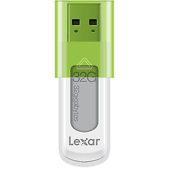 Lexar 16GB JumpDrive S50 USB-flashdrev i krikand [LJDS50-16GABEU].