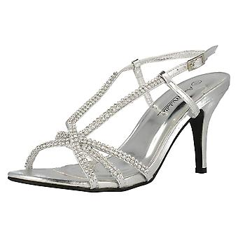 Ladies Anne Michelle Heeled Sandals F10284