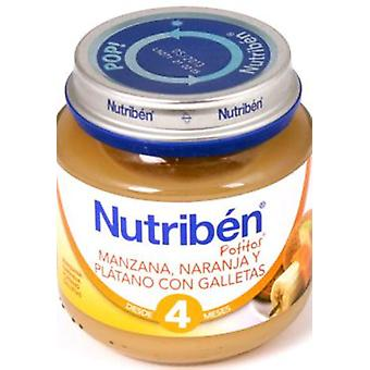 Nutribén Baby Apple and Orange Puree (Childhood , Healthy diet , Pots)