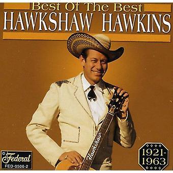 Hawkshaw Hawkins - bedste af det bedste [CD] USA import