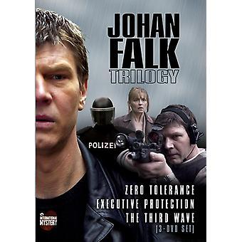 Johan Falk trilogi [DVD] USA importerer