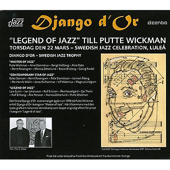 Putte Wickman - Django D'or [CD] USA import