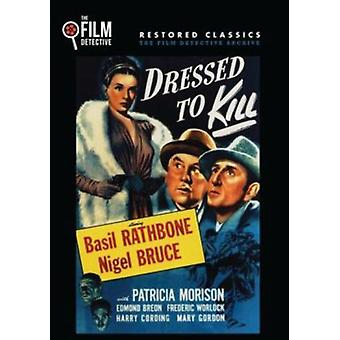 Sherlock Holmes: Dressed to Kill [DVD] USA import