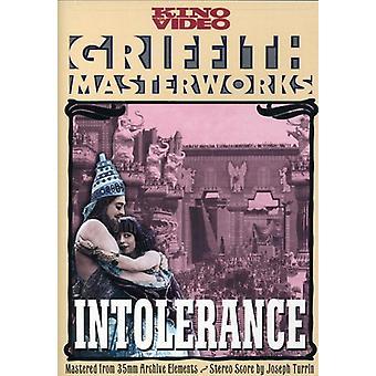 Intolerans (1916) [DVD] USA import