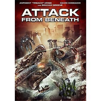 Angreb fra Beneath [DVD] USA importerer
