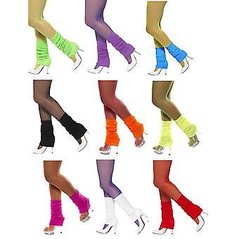 Stockings 80s disco style aerobics warmers 80ies