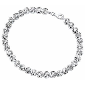 925 Silver Zirconia Bracelet