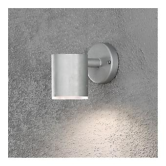 Konstsmide Ull Galvanised Steel LED Wall Down Light