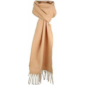 Dents Plain Lambswool Scarf - Camel