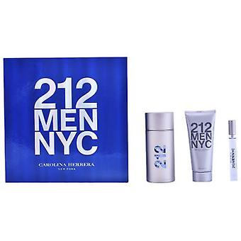 Carolina Herrera 212 Men pack 3 piezas (Parfümerie , Packs )