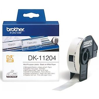 Brother DK11204 multi purpose etiketten