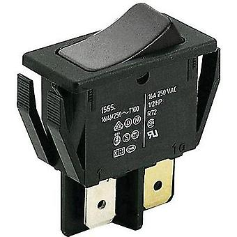 Toggle switch 250 Vac 16 A 1 x Off/(On) Marquardt