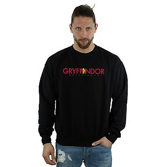 Harry Potter Men's Gryffindor Text Sweatshirt