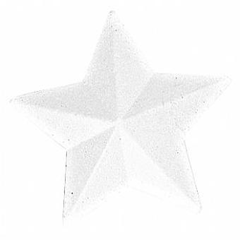 SALE -  145mm Polystyrene Bevelled Star to Decorate