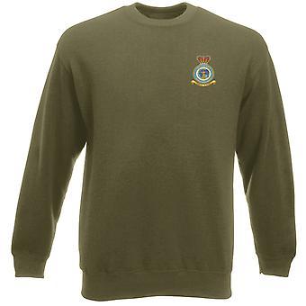 Juridische tak geborduurd Logo - officiële Koninklijke Luchtmacht Heavyweight Sweatshirt