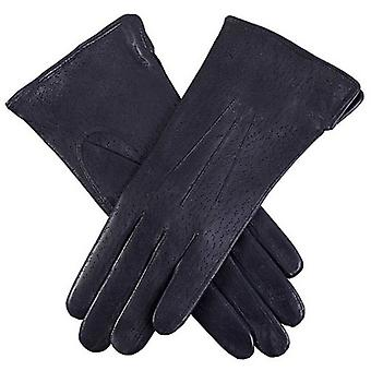 Dents Jessica Classic Imipec Leather Gloves - Navy