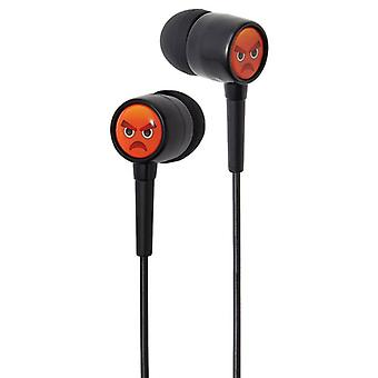Groov-e EarMOJI Kids Earphones Angry Face (Model No. GVEMJ26)