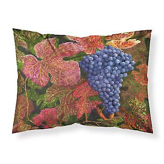 Grapes Of Joy by Malenda Trick Fabric Standard Pillowcase
