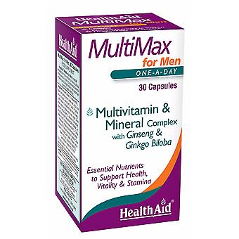 Health Aid MultiMax - For Men 30's Capsules
