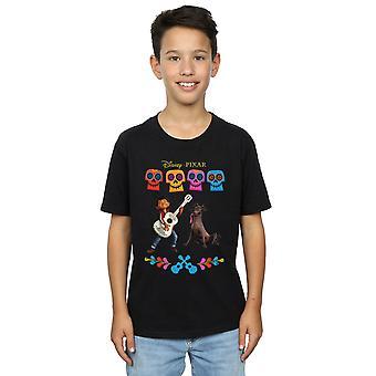 Disney garçons Coco Miguel Logo T-Shirt