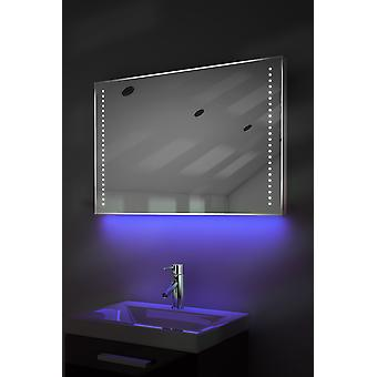 Ambient Shaver LED Bathroom Mirror With Demister Pad & Sensor K61s