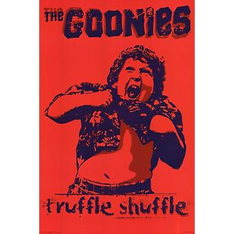 Goonies - Truffle Shuffle Poster Poster Print