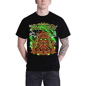 Mastodon T Shirt kejser Gud band Logo nye officielle Herre sort