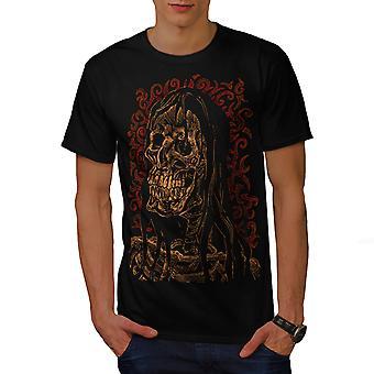 Maiden Metal Death Men BlackT-shirt | Wellcoda