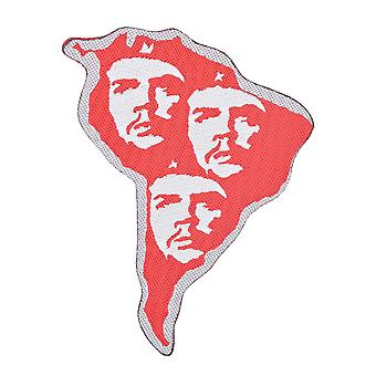 Che Guevara South America Cut Out Woven Patch