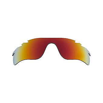 Best SEEK Replacement Lenses for Oakley VENTED RADAR LOCK Amber Red Mirror