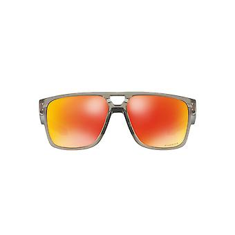 Oakley Crossrange Patch zonnebril In mat grijs Ink Ruby Prizm