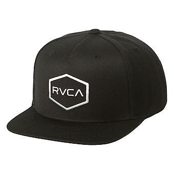 RVCA Commonwealth III Snapback Cap - Black