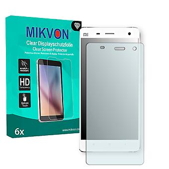Xiaomi Mi4 Screen Protector - Mikvon Clear (Retail Package with accessories)
