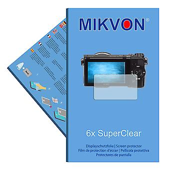 Sony Alpha NEX-5T screen protector- Mikvon films SuperClear