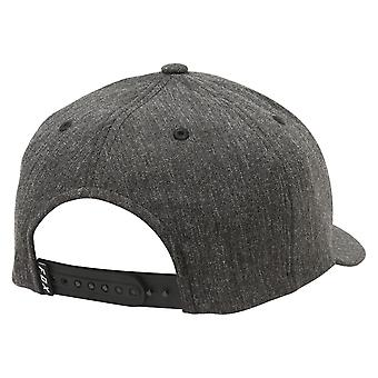 Fox Heads Up 110 Snapback - Heather Black