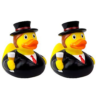 Lilalu Groom and Groom Wedding Rubber Duck Bathtime Toys