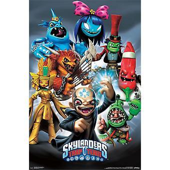 Skylanders Trap Team - Super Villains Poster Print