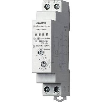 Rail-mount dimmer 1 pc(s) Conrad Components CMFD-500W Operating voltage: