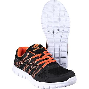 Mirak Mens Milos Lace Sports Light Textile Synthetic Trainers