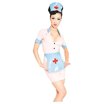 Westward Bound Nymph Nurse Latex Rubber Uniform.