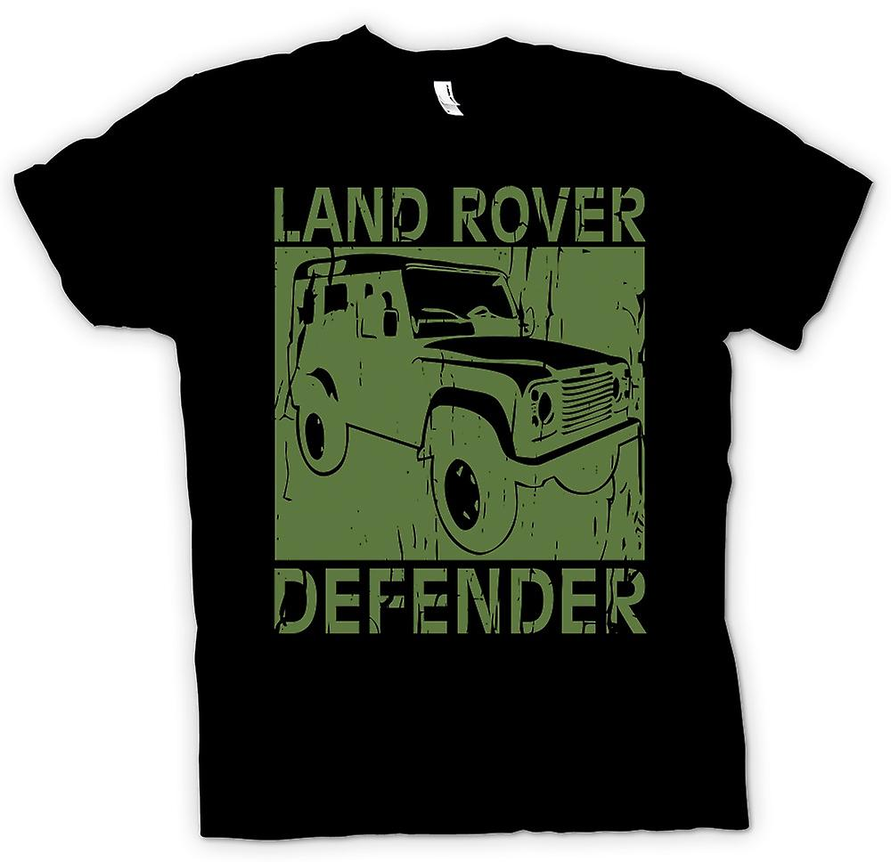 Kids t-shirt-defensor de Land Rover Offroad