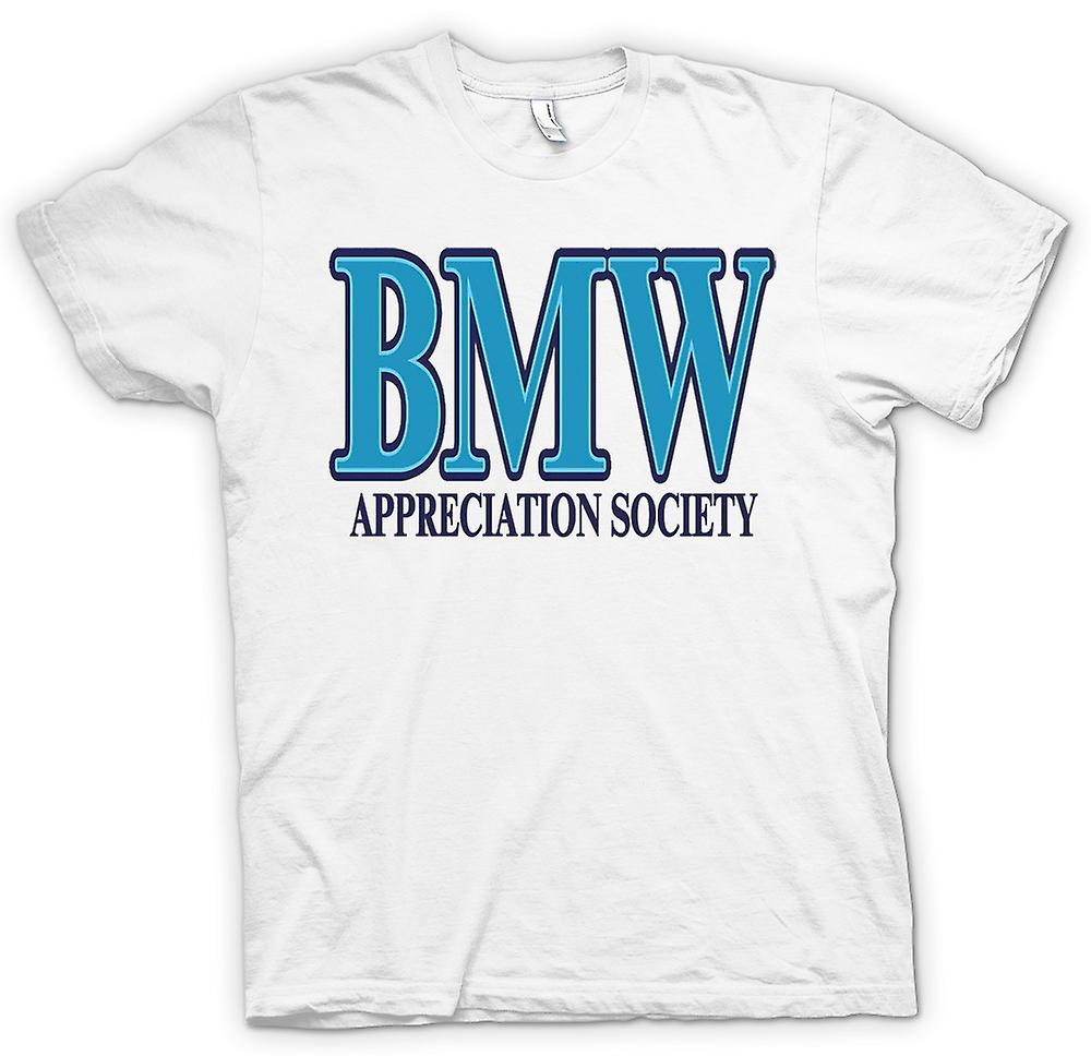 Womens T-shirt-BMW Appreciation Society