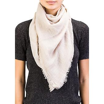 Versace Collection Women's Cotton Beige Scarf