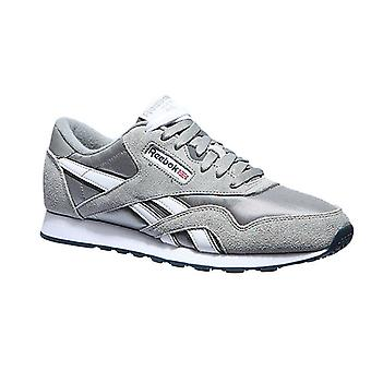 Reebok CL nylon sneakers men's sneaker grey