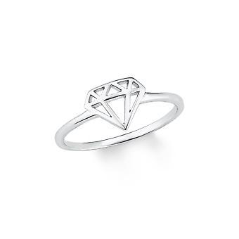 señoras de s.Oliver joya anillo plata Circonita tan puro 202182