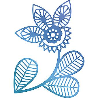 Ultimate Crafts Bohemian Bouquet Hotfoil Stamp 2