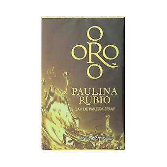 Paulina Rubio ORO Eau de Parfum Spray 1.7 Oz/50 ml nouveau dans la boîte